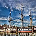 Uss Constitution-boston by Joann Vitali