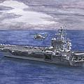 Uss Eisenhower by Sarah Howland-Ludwig