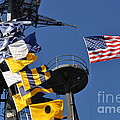 Uss Midway Flags by Bridgette Gomes