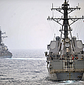 Uss Porter And Uss Nitze Participate by Stocktrek Images