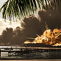 U S S Shaw Pearl Harbor December 7 1941 by Photo Researchers