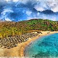 Vai Beach by George Rossidis