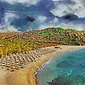 Vai Beach II by George Rossidis