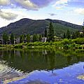 Vail Reflections 6 by Madeline Ellis