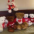 Valentine Bears  by Nancy Patterson