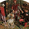 Valentine Rescuing Slyvia Fro Proteus by William Holman Hunt