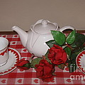 Valentine Tea For Two  by Nancy Patterson