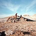 Valle De La Luna - Atacama Desert Northern  by Ronald Osborne