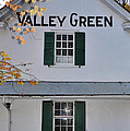 Valley Green Inn - Side View by Bill Cannon