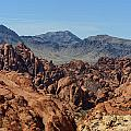 Valley Of Fire 2 Of 4 by Gregory Scott
