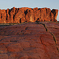 Valley Of Fire Rockscape by Susan Rovira