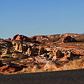 Valley Of Fire Winding Road by Chris Brannen