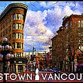 Vancouver - Flat Iron In Gastown by Julius Reque
