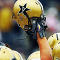 Vanderbilt Commodore Helmet  by Vanderbilt University