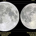 Variation In Apparent Lunar Diameter by Laurent Laveder