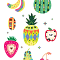 Various Kinds Of Fruit by Eastnine Inc.
