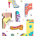 Various Kinds Of Shoes by Eastnine Inc.