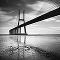 Vasco Da Gama Bridge I by Nina Papiorek