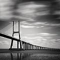 Vasco Da Gama Bridge IIi by Nina Papiorek