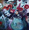 Vase Of Flowers by Camelia Apostol