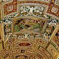 Vatican Ceiling by Ashley Borchers