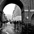 Vatican City Wall Rainy by Heather Marshall