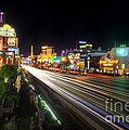 Vegas Light Trails by Yhun Suarez