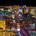 Vegas Strip At Night by Jon Berghoff