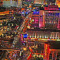 Vegas Strip by Randy Harris