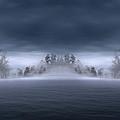 Veil Of Mist by Lourry Legarde
