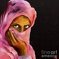 Veiled Beauty by Dragica  Micki Fortuna