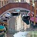 Venetian Canal by Jim Chamberlain