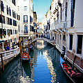 Venetian Canal by Paul Cowan