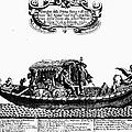 Venetian Gondola, C1689 by Granger