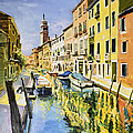 Venice Canal by Conor McGuire