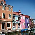 Venice Canal by Linda Woods