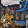 Venice From Ponte Di Rialto by Carlos Alkmin