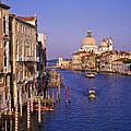 Venice, Grand Canal, Italy by Hans-Peter Merten