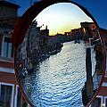 Venice Grand Canal Mirrored by Cedric Darrigrand