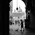 Venice Morning Sweeper by Bryan Pereira
