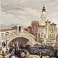 Venice: Rialto, 1833 by Granger