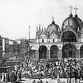 Venice: Saint Marks, 1797 by Granger