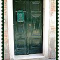 Venitian Door   Venice Italy by John Shiron
