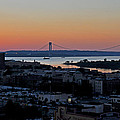 Verazano Sunset by Diane Lent