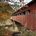 Vermont Covered Bridge by John Greim