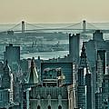Verrazano From Manhattan by S Paul Sahm