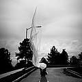 Vertical Cloth Wind  by Scott Sawyer