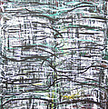 Vertical White Lines And Horizontal Black Lines by Kazuya Akimoto