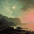 Vesuvius From Posillipo by Joseph Wright of Derby