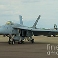 Vf-31 Tomcatters On Tarmac  by Mark Dodd